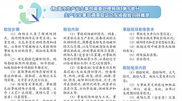 《上海市生产安全事故调查处理导则》发布