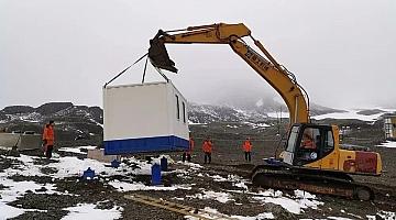 南极长城站地震台完成改建