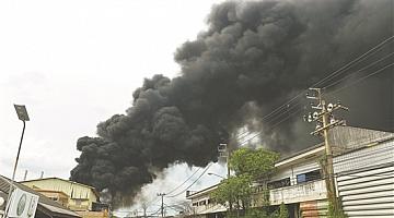 泰国一化工厂爆炸 致1死20余伤