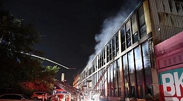 长春一物流仓库发生火灾 已致14死26伤